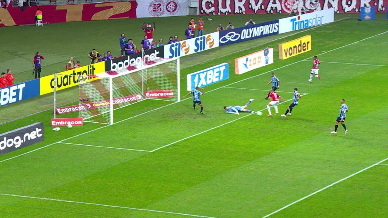 Melhores momentos: Internacional 1 x 1 Grêmio pela 11ª rodada do Brasileirão