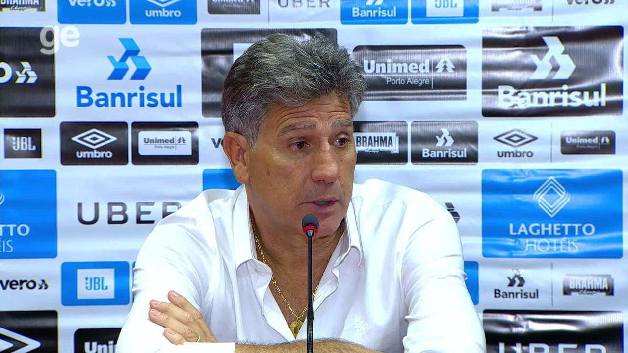 Confira a íntegra da entrevista do técnico Renato Gaúcho após o Gre-Nal 421