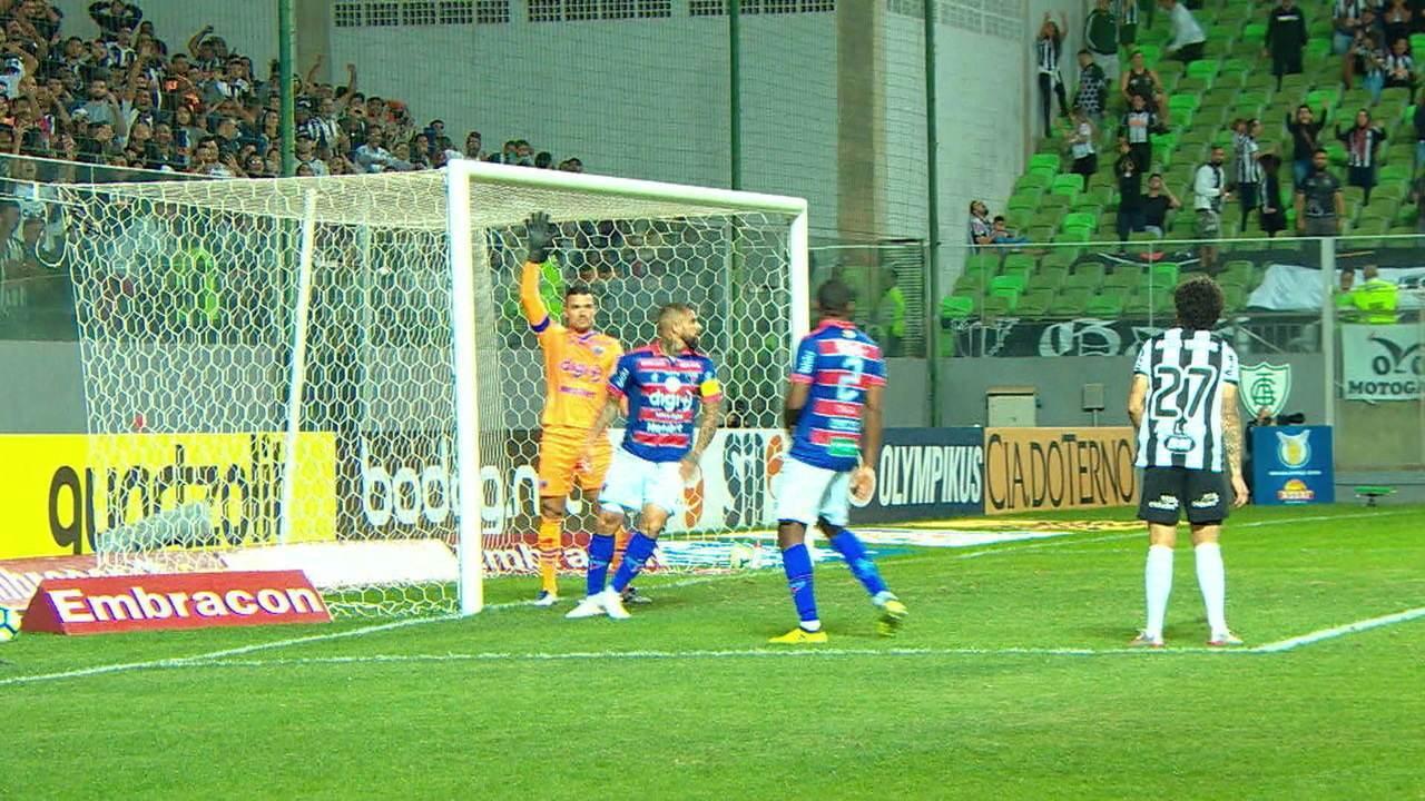 Melhores momentos de Atlético-MG 2 x 2 Fortaleza pela 11ª rodada do Brasileirão