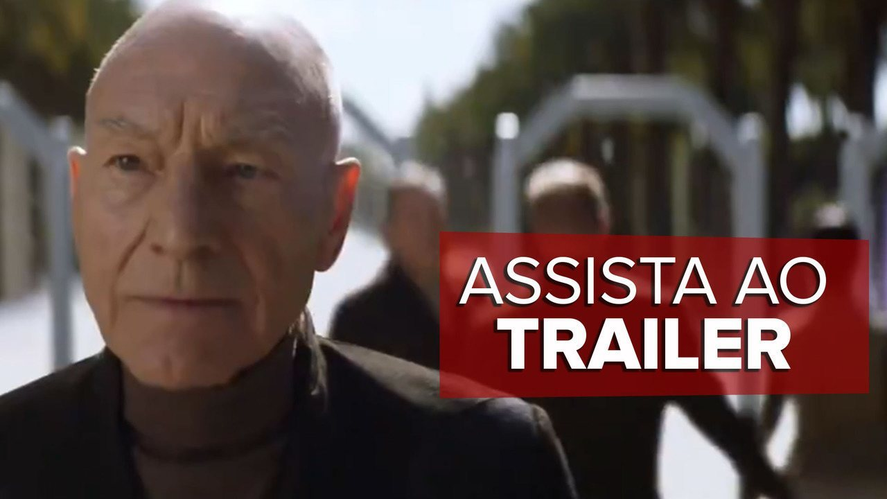 Assista ao trailer de 'Star Trek: Picard'