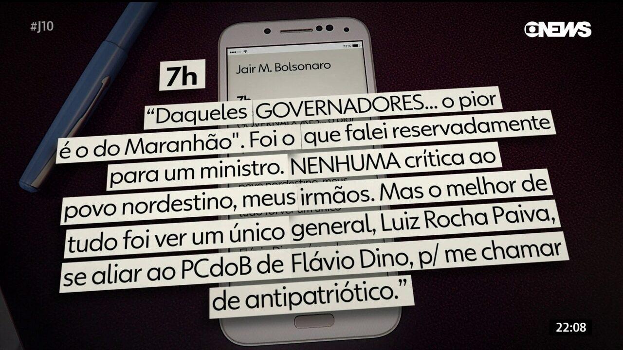 Bolsonaro critica general da Comissão de Anistia do governo federal: 'Um melancia'