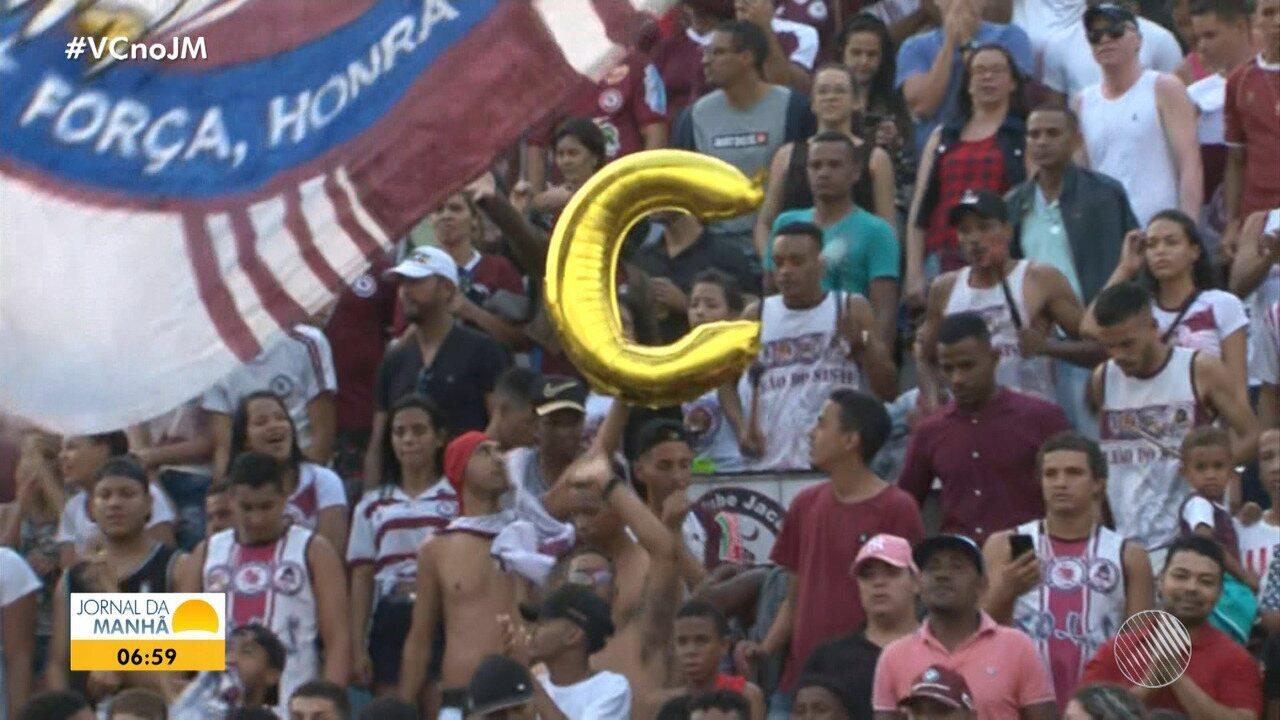 Jacuipense vence o Floresta e consegue acesso inédito à Série C do Brasileiro