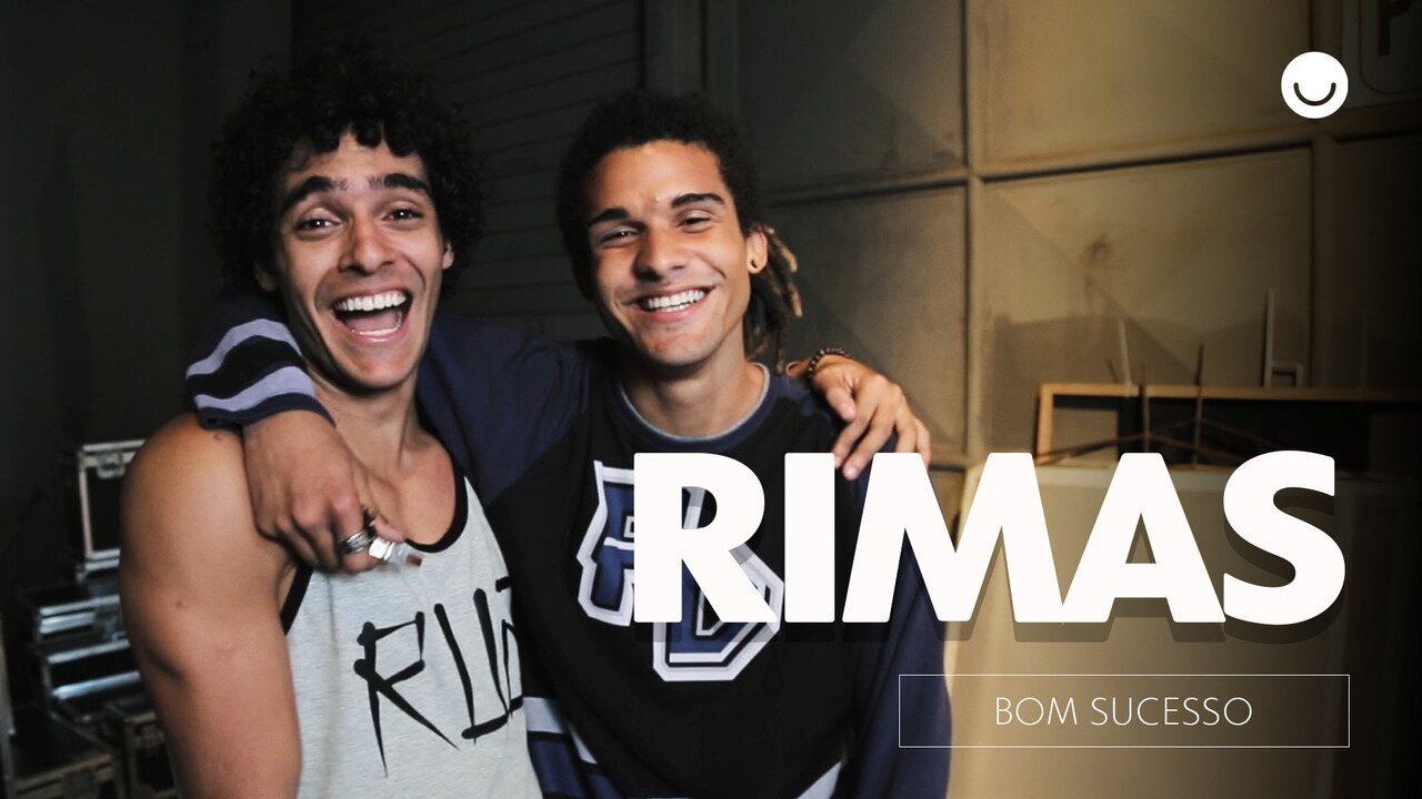 Os atores que vivem Luan e Waguinho comentam a estreia em duelo de Slam