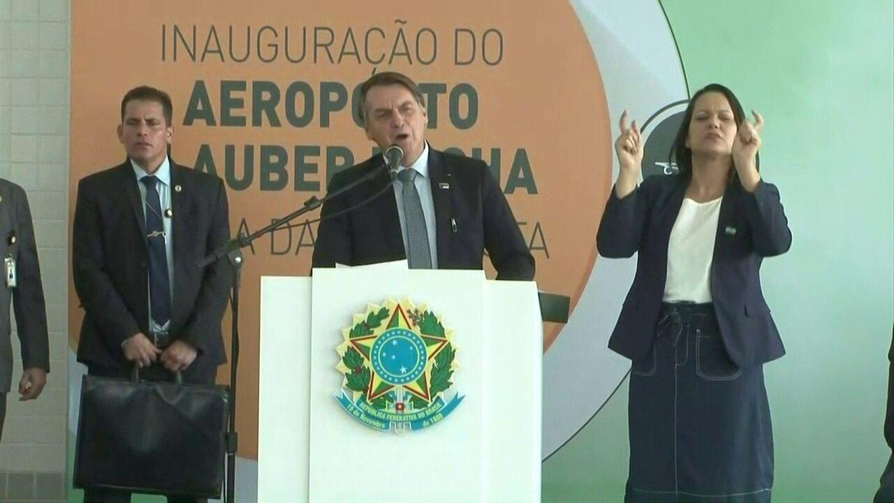 'Eu amo o Nordeste', declara Jair Bolsonaro