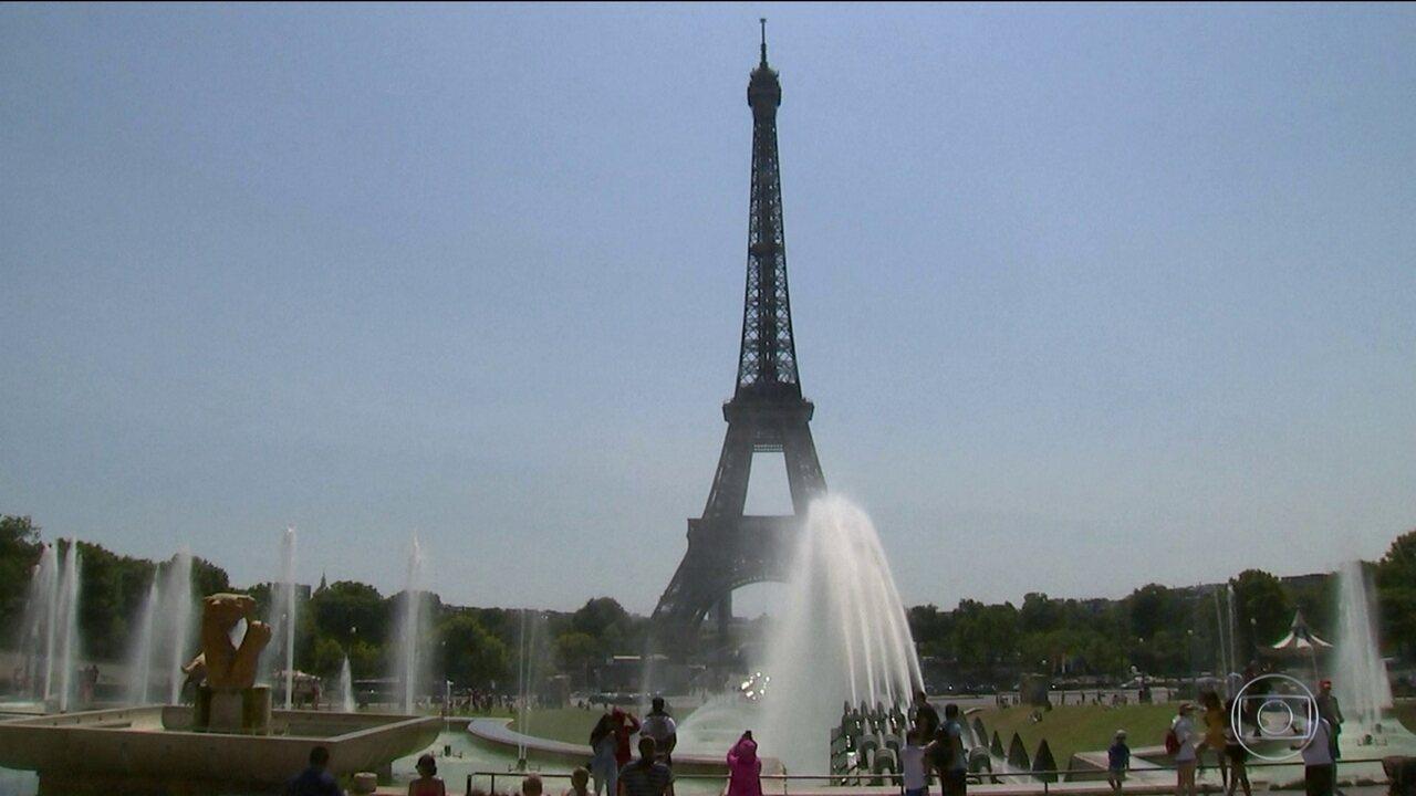 Europa está em alerta por onda de calor