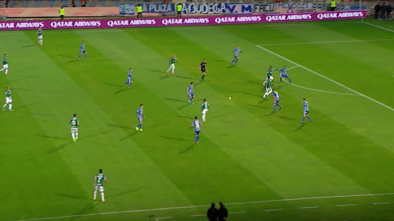 Melhores momentos: Godoy Cruz 2 x 2 Palmeiras pela Taça Libertadores