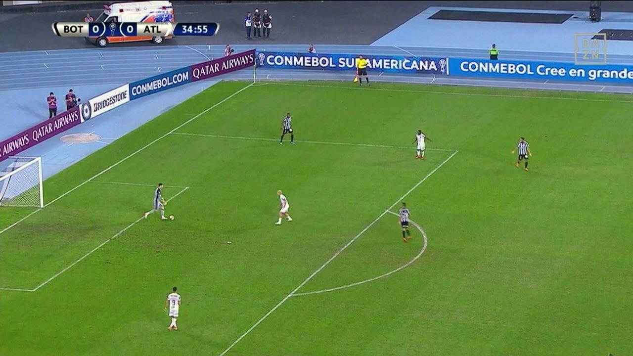 Botafogo perde para o Atlético-MG por 1 x 0 pela Copa Sul-Americana
