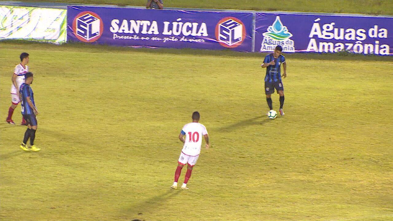 Fast é goleado por 3 a 0 pelo Ypiranga-AP na ida da 1ª fase da Copa Verde