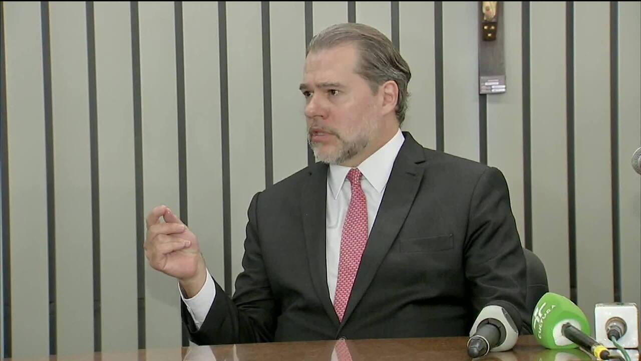 Toffoli pretende antecipar julgamento sobre caso Coaf