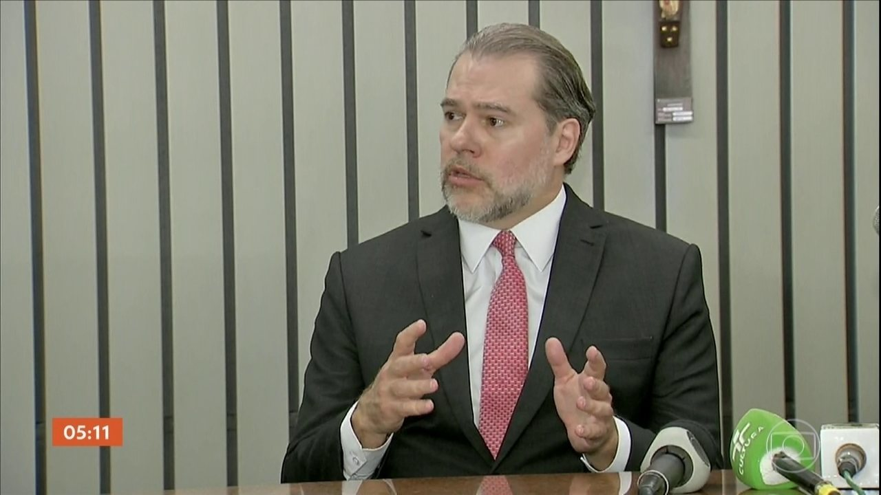 Presidente do STF comenta decisão de suspender investigações com uso de dados do Coaf