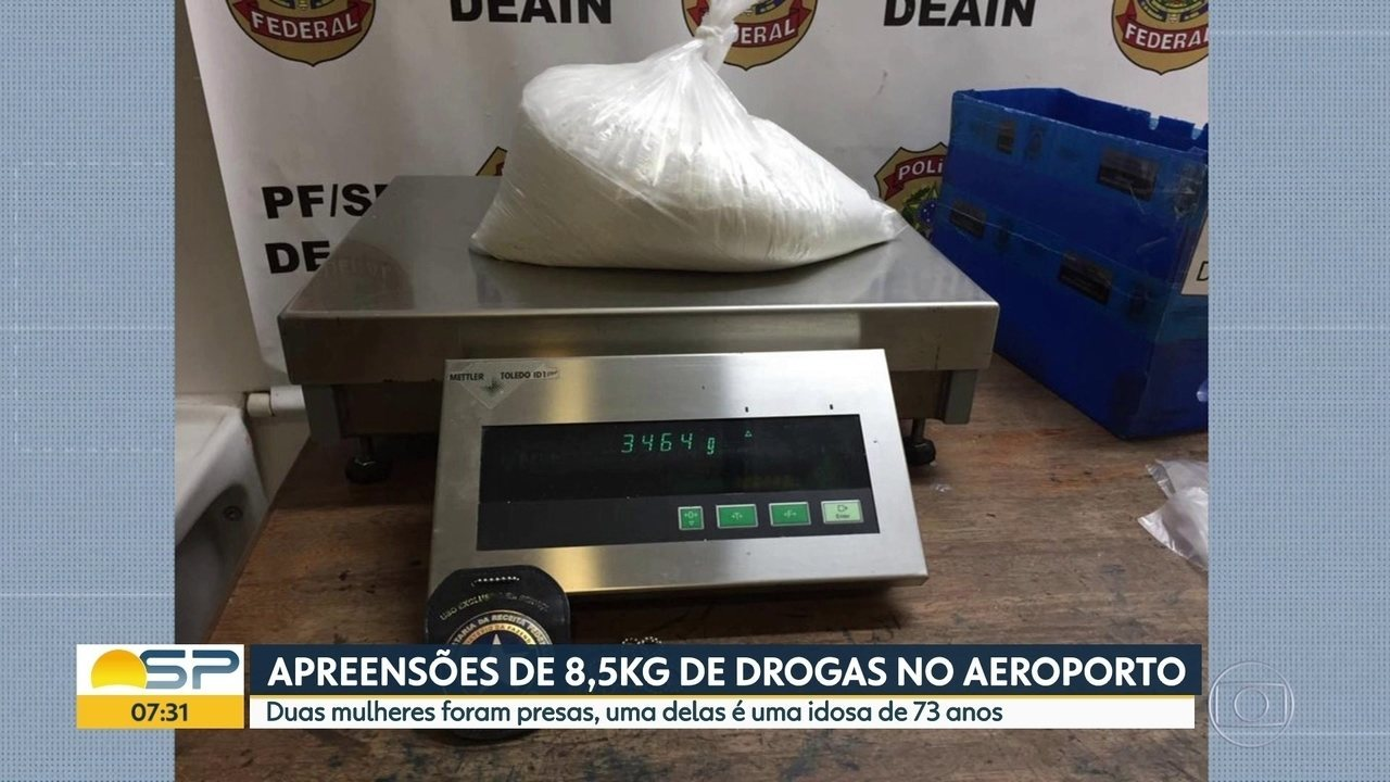 Idosa de 73 anos é presa traficando drogas