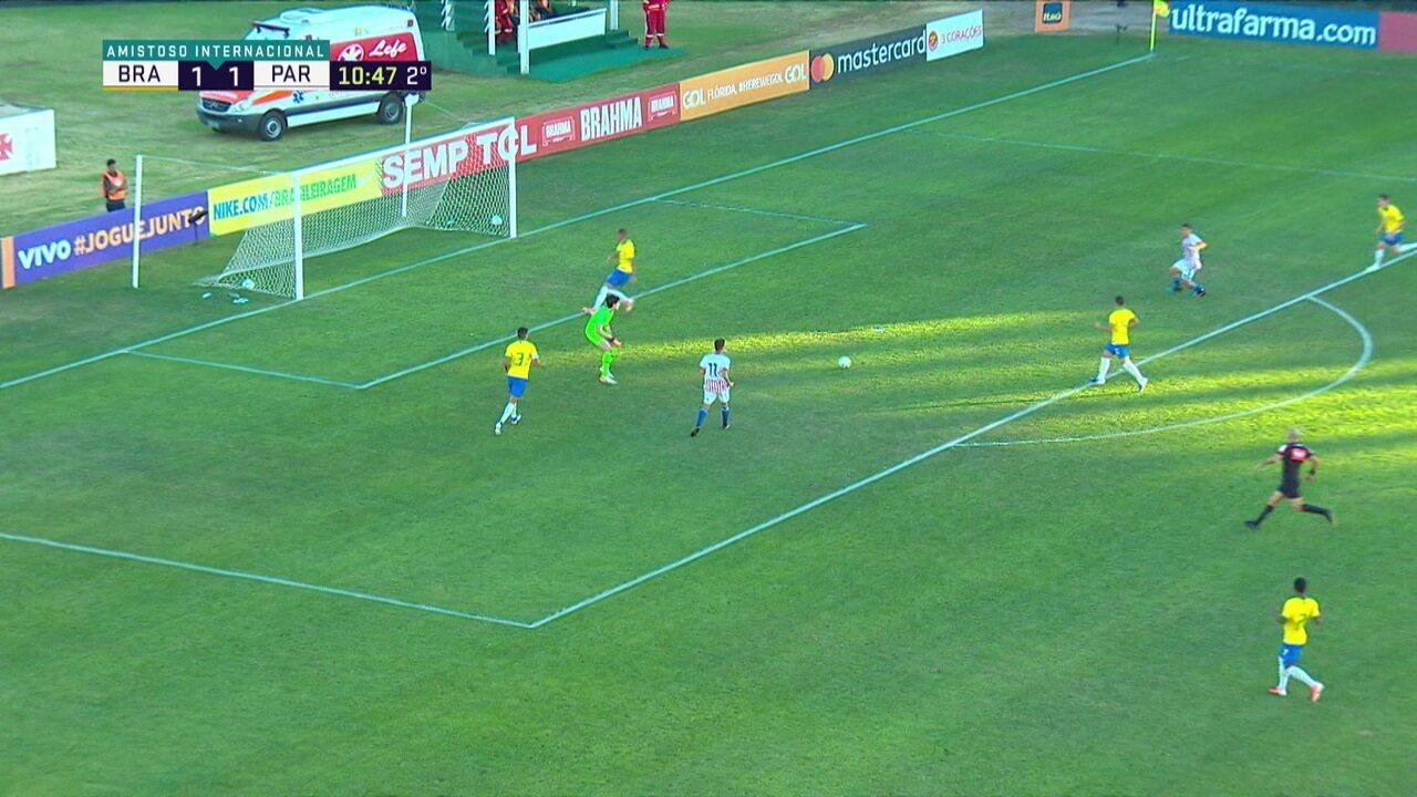 Melhores momentos: Brasil 4 x 1 Paraguai em amistoso sub-17