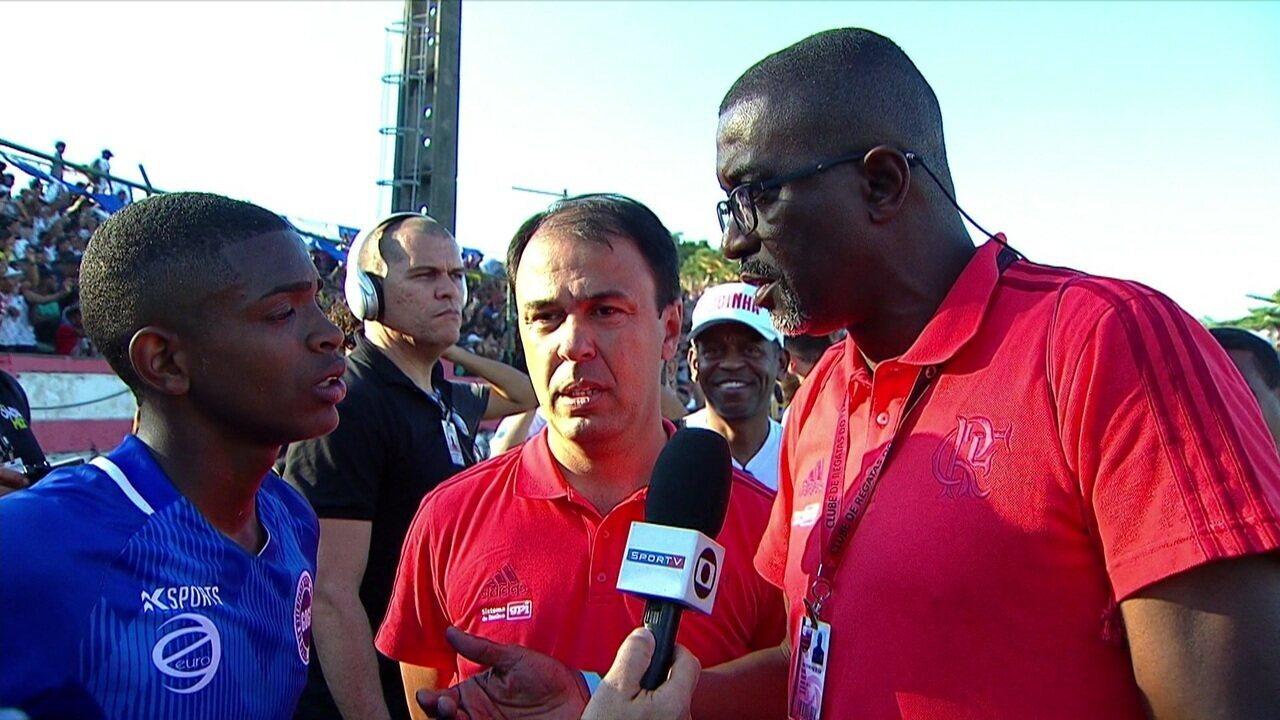 Artilheiro e craque do campeonato, Ronald recebe oferta para jogar no Flamengo logo após o título na Taça das Favelas