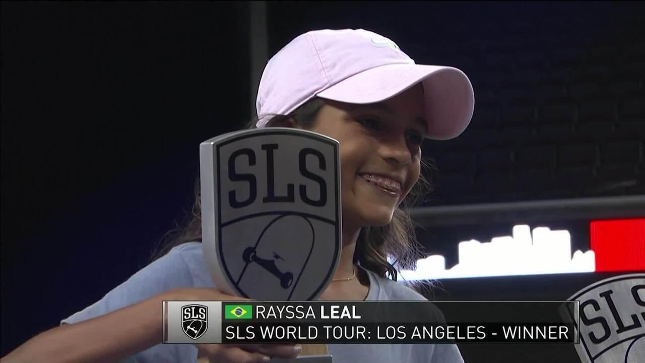 Raíssa Leal, a Fadinha, de apenas 11 anos, conquista etapa do Mundial de Skate Street