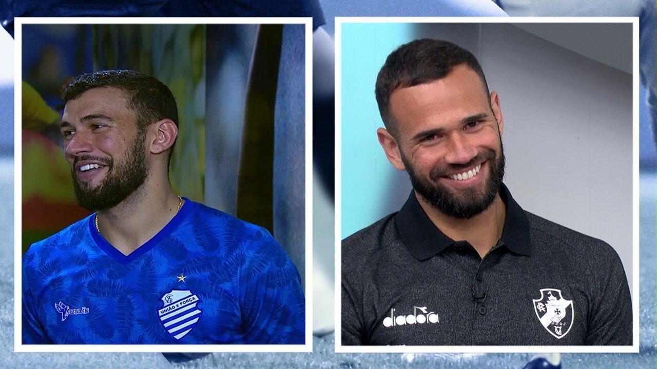 Irmãos Castan trocam elogios e falam sobre o primeiro jogo contra que terão na próxima rodada do Brasileirão