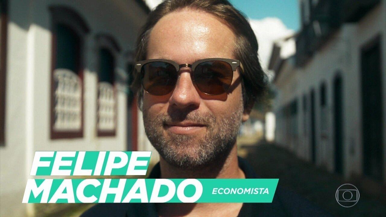 Felipe Machado mudou de vida ao optar pelo trabalho remoto, e direto do mar
