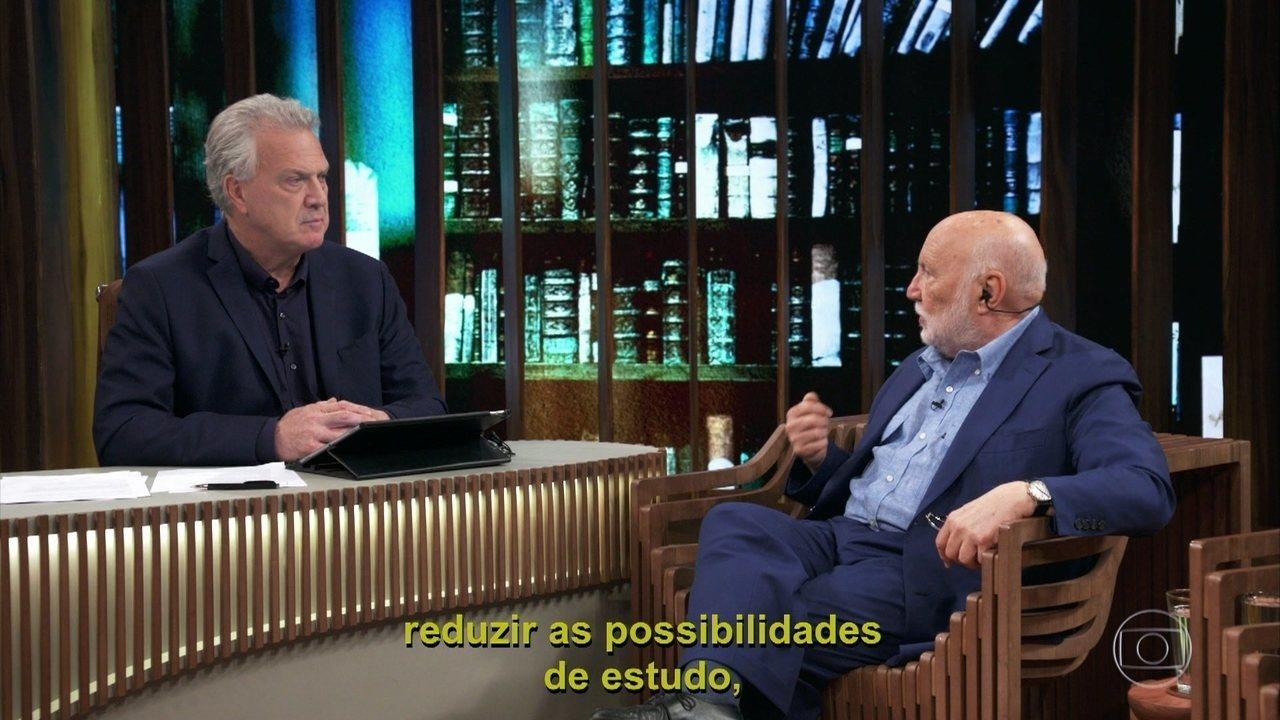 Domenico atualiza uma avaliação que fez do Brasil