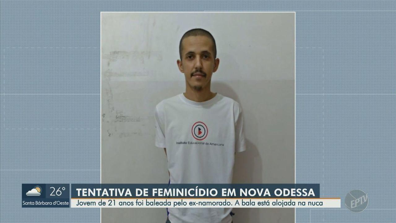Homem é preso por atirar na cabeça da ex-namorada em Nova Odessa