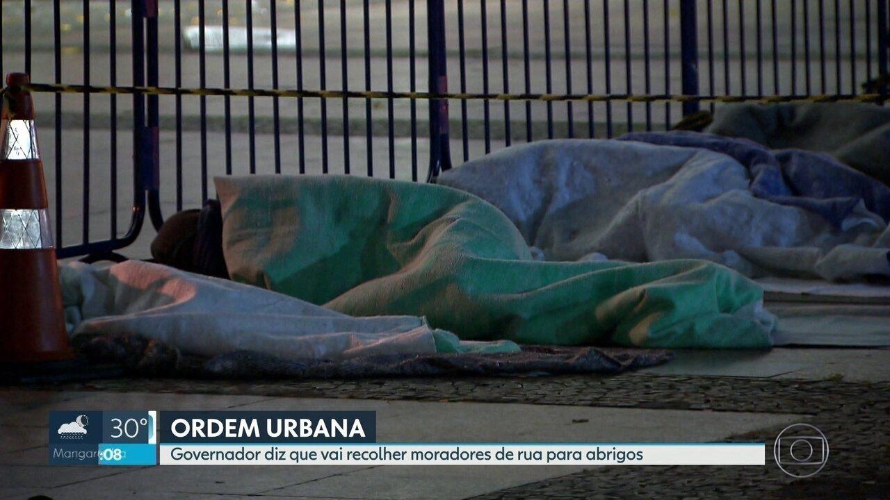 Governo do Estado faz acordo com Prefeitura do Rio para ações de ordem urbana.