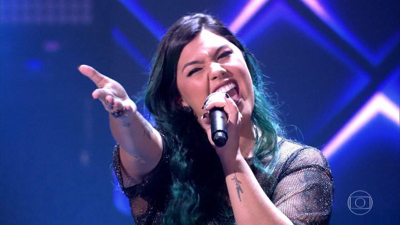 """Paula Araujo cantou """"Bohemian Rhapsody""""nas Audições às Cegas"""