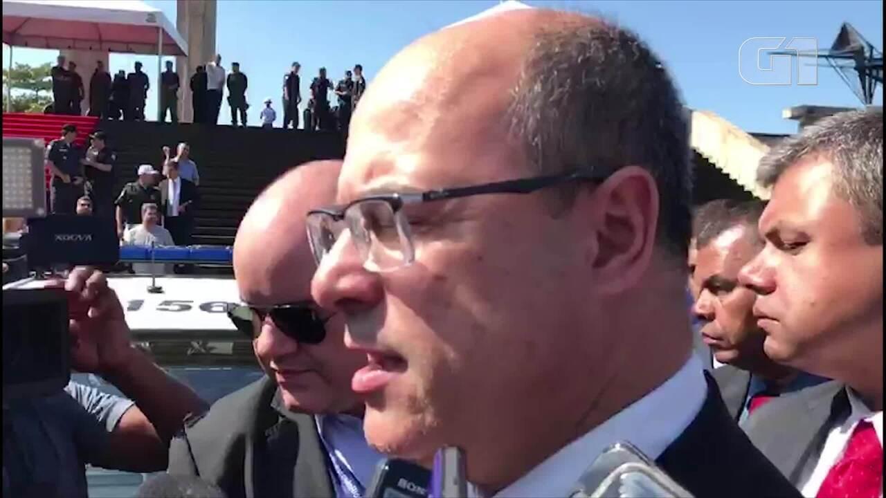 """Wilson Witzel diz que """"provavelmente"""" demitirá presidente da Suderj e pode realizar interv"""