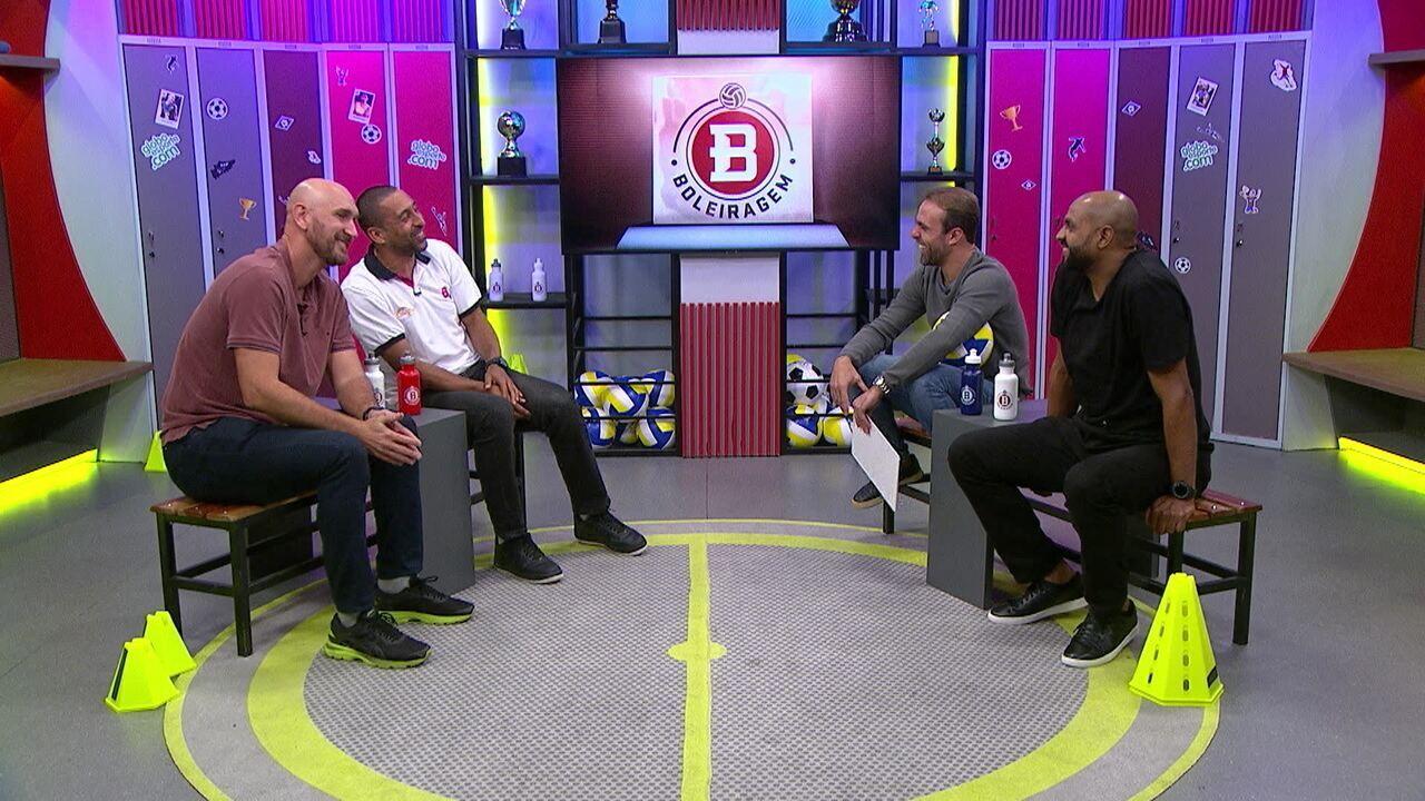 Boleiragem recebe ídolos do vôlei: Anderson, Serginho e Nalbert