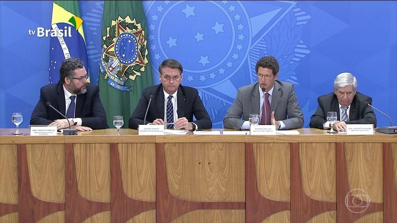 Governo volta a contestar os números do desmatamento, que pioraram