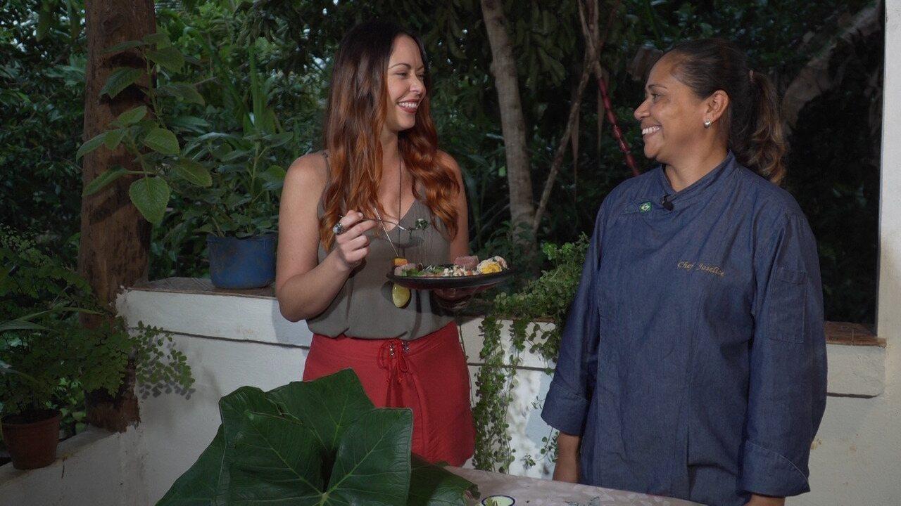 Em Itacaré, chefe de cozinha Jô Pinto fala de gastronomia rica e sustentável