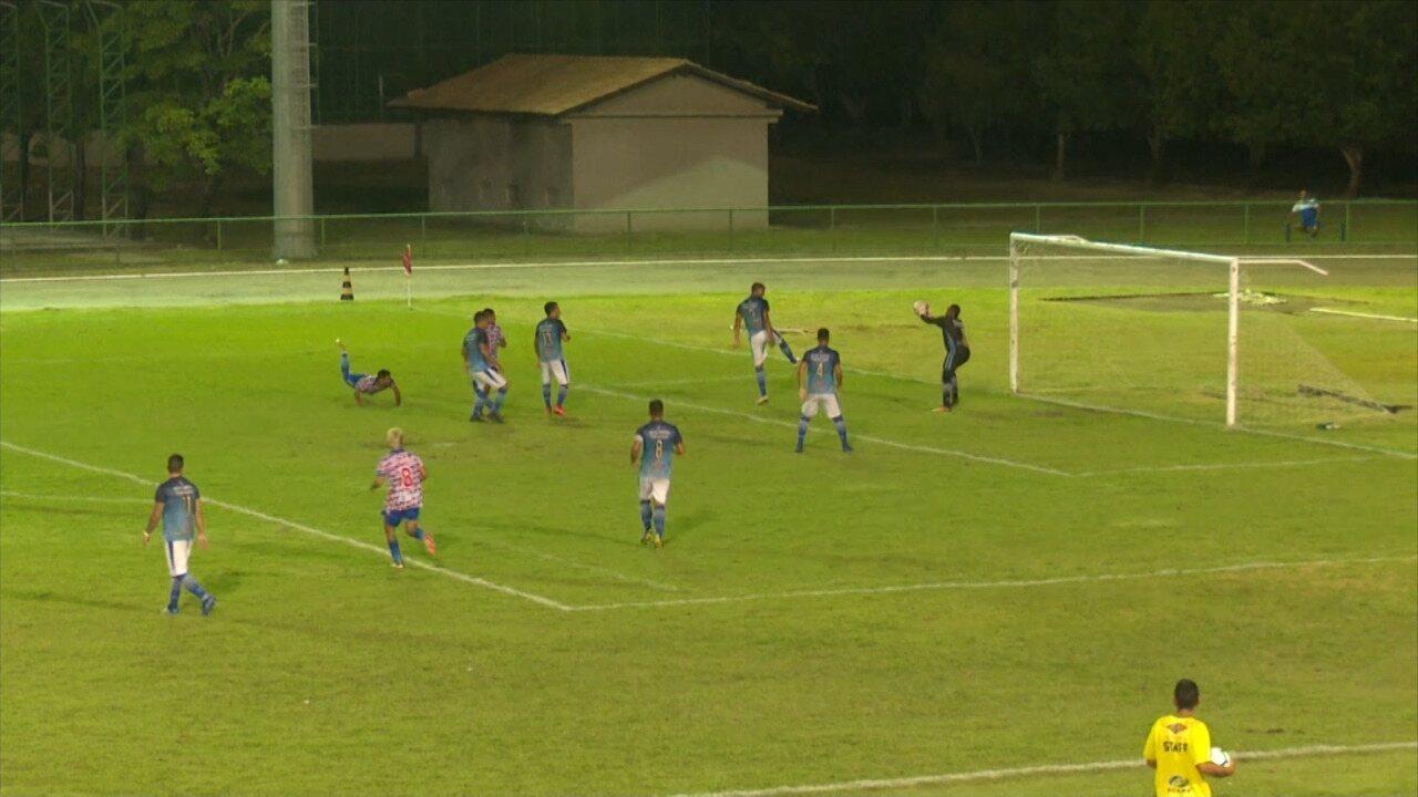 Mundão perde em casa para o Bragantino-PA e dá adeus à Copa Verde 2019