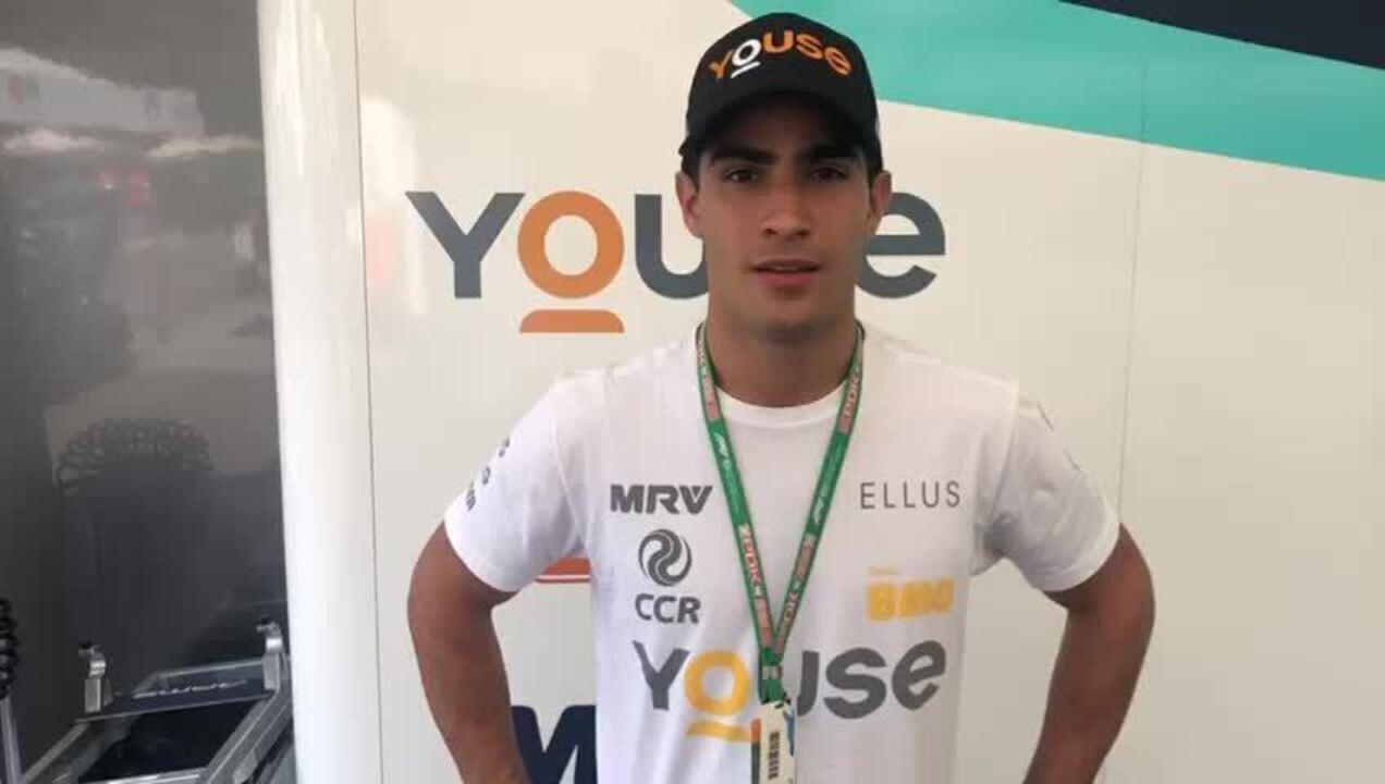 Sérgio Sette Câmara comenta resultado da Fórmula 2 na Hungria