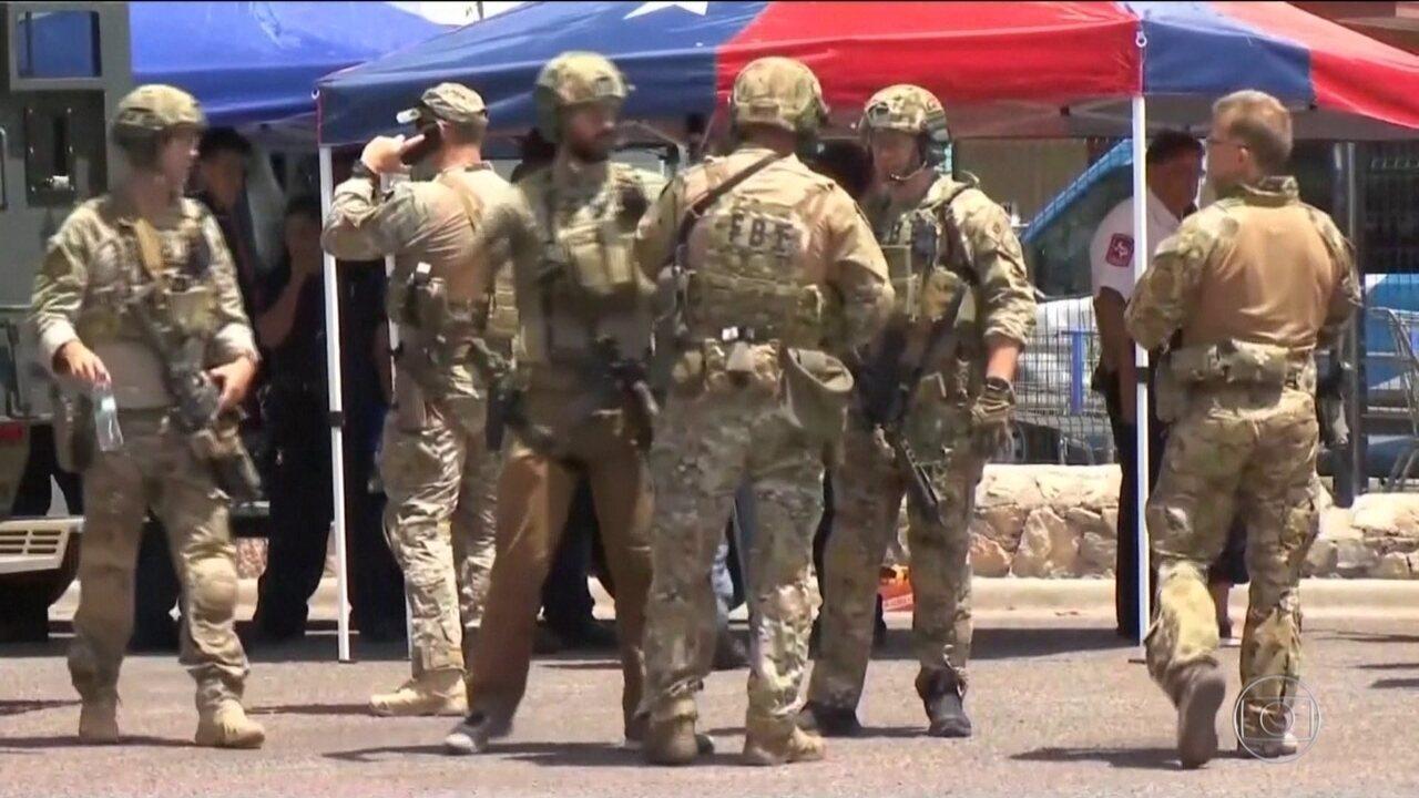No Texas, atirador abre fogo em centro comercial e deixa mortos e feridos