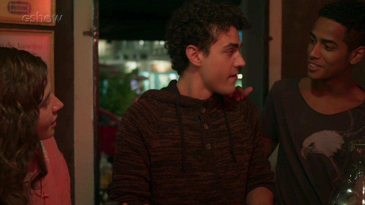07/8 - Teaser 'Malhação - Toda Forma de Amar': Guga revela seu segredo