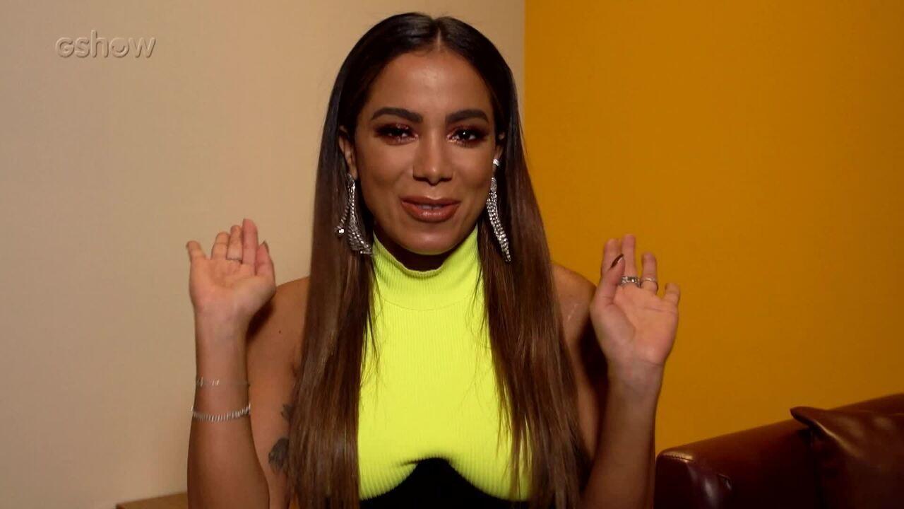 Anitta fala de suas memórias do 'Domingão do Faustão'