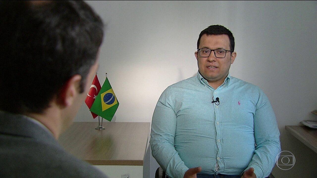 Empresário turco que recebeu do STF permissão de ficar no Brasil fala sobre decisão