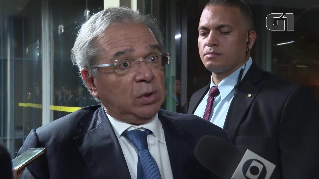 Paulo Guedes admite que pode trocar comando do Coaf