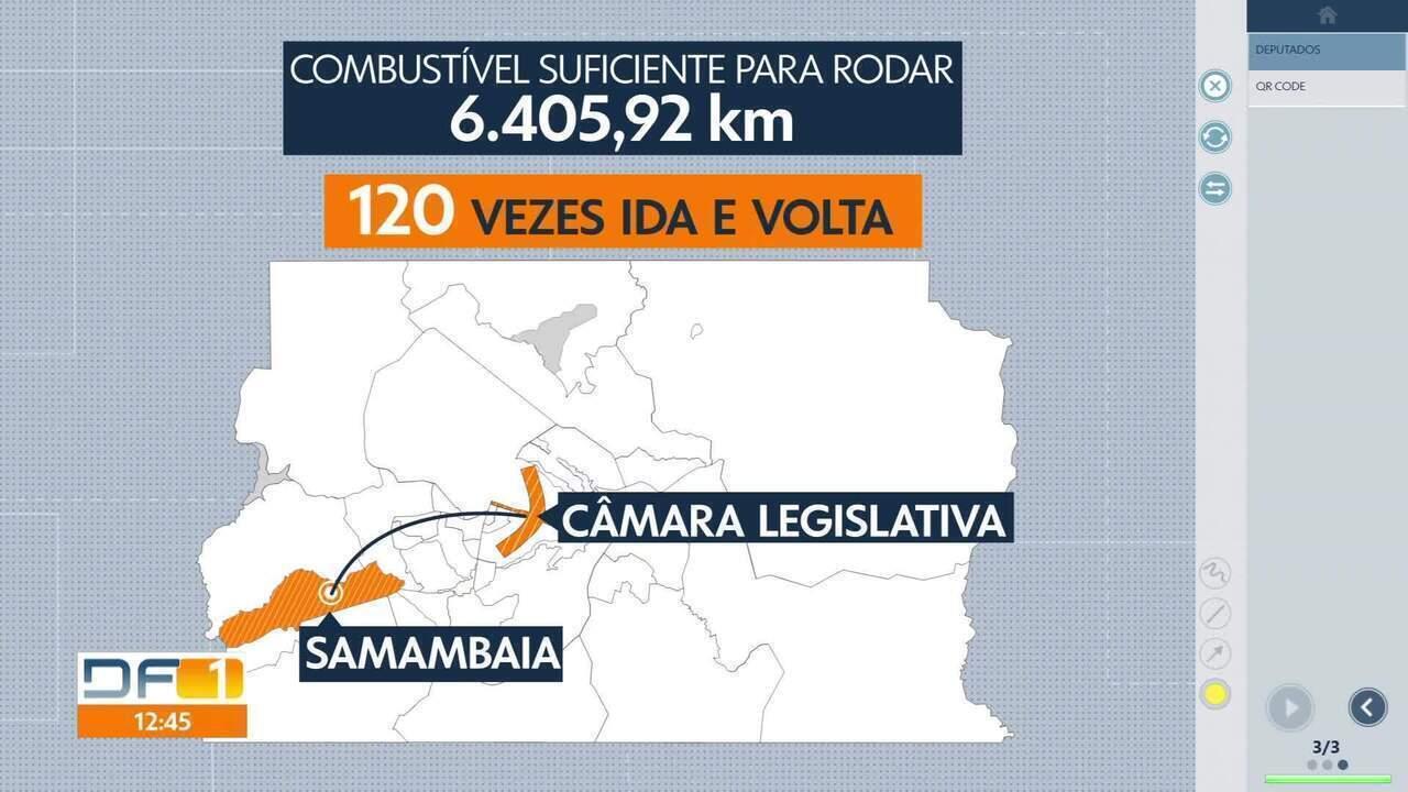 Deputado gasta verba indenizatória com combustível suficiente para ir até a Colômbia