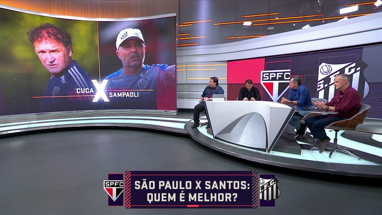 Seleção SporTV analisa quem é melhor entre São Paulo e Santos