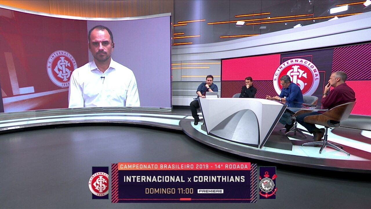 Diretor executivo de Futebol do Inter, Rodrigo Caetano participa do Seleção
