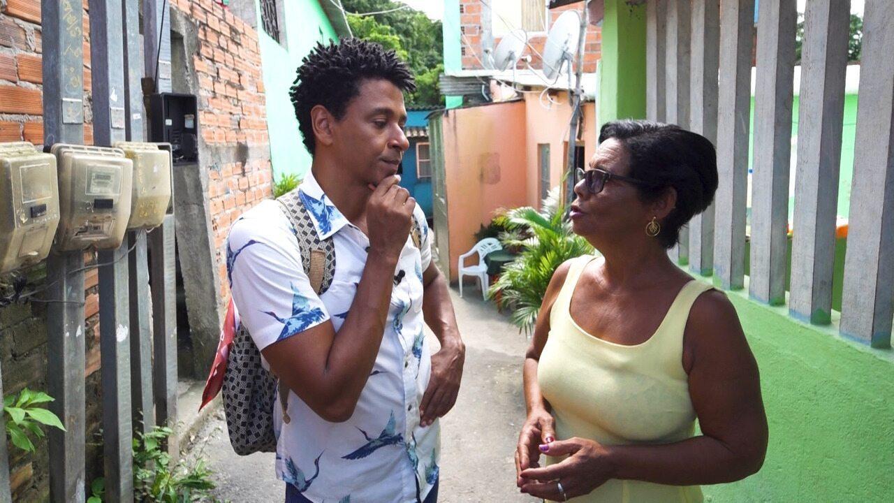 O 'Vumbora' desbrava o quilombo urbano Alto do Tororó, em Paripe