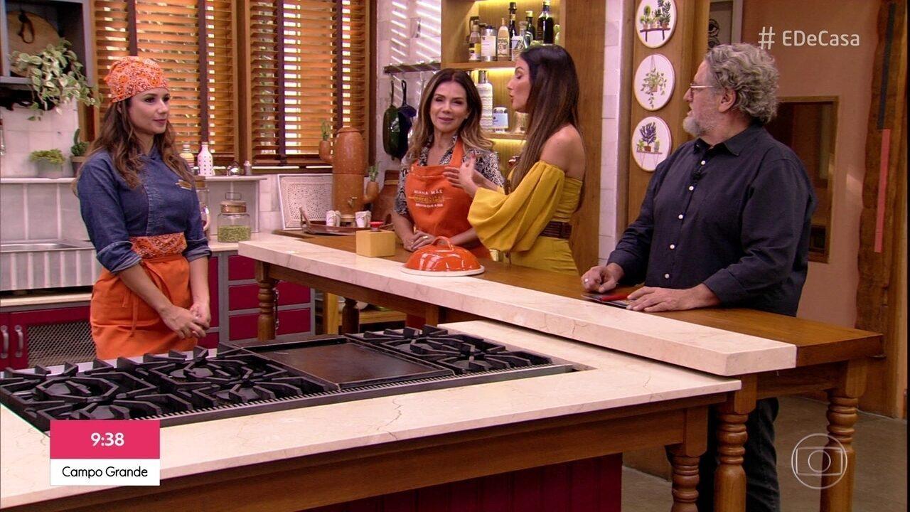Minha mãe cozinha melhor que a sua: veja o desempenho de Paula Fernandes
