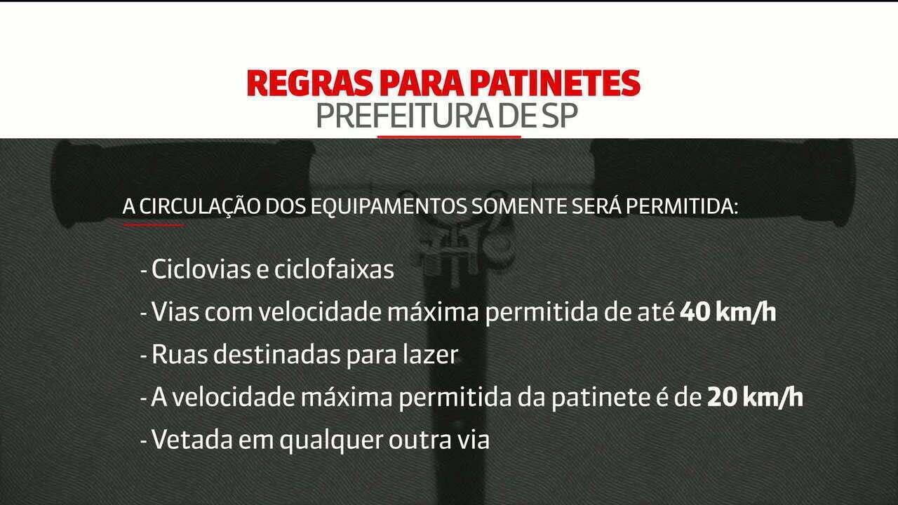 Secretário de Transportes de São Paulo comenta decreto sobre patinetes elétricos