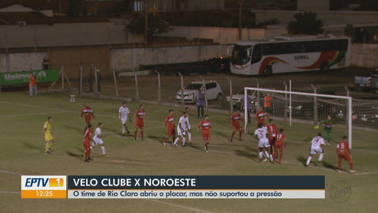 Velo Clube empata com o Noroeste em casa pela Copa Paulista