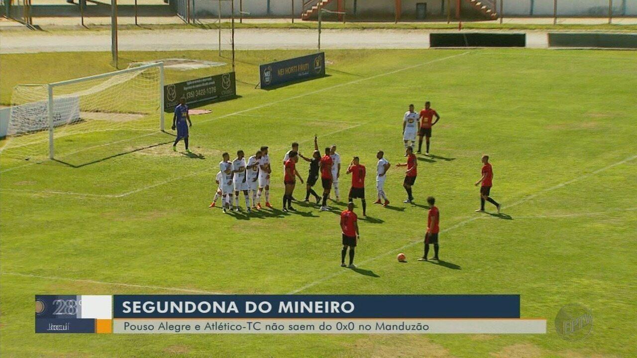 Pouso Alegre e Atlético TC empatam em 0 a 0 na estreia da Segundona do Mineiro