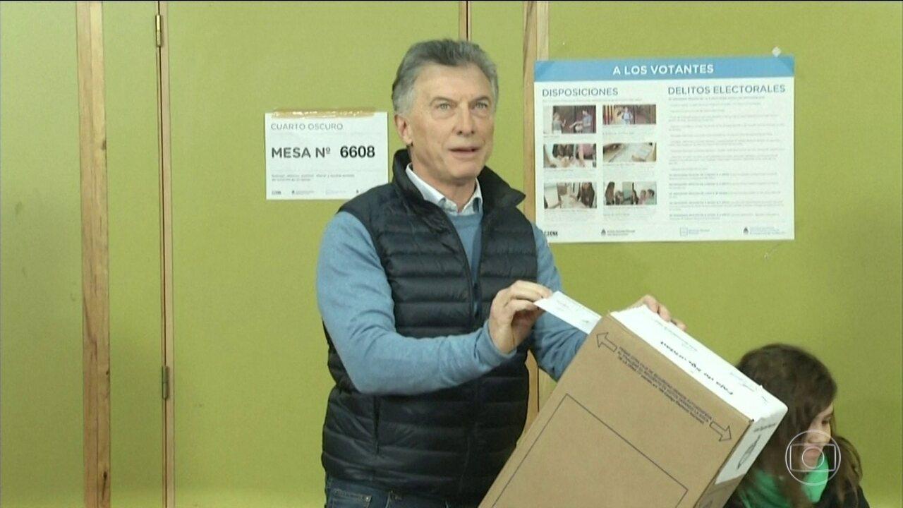 Presidente argentino Mauricio Macri sofre grande derrota nas primárias deste domingo (11)