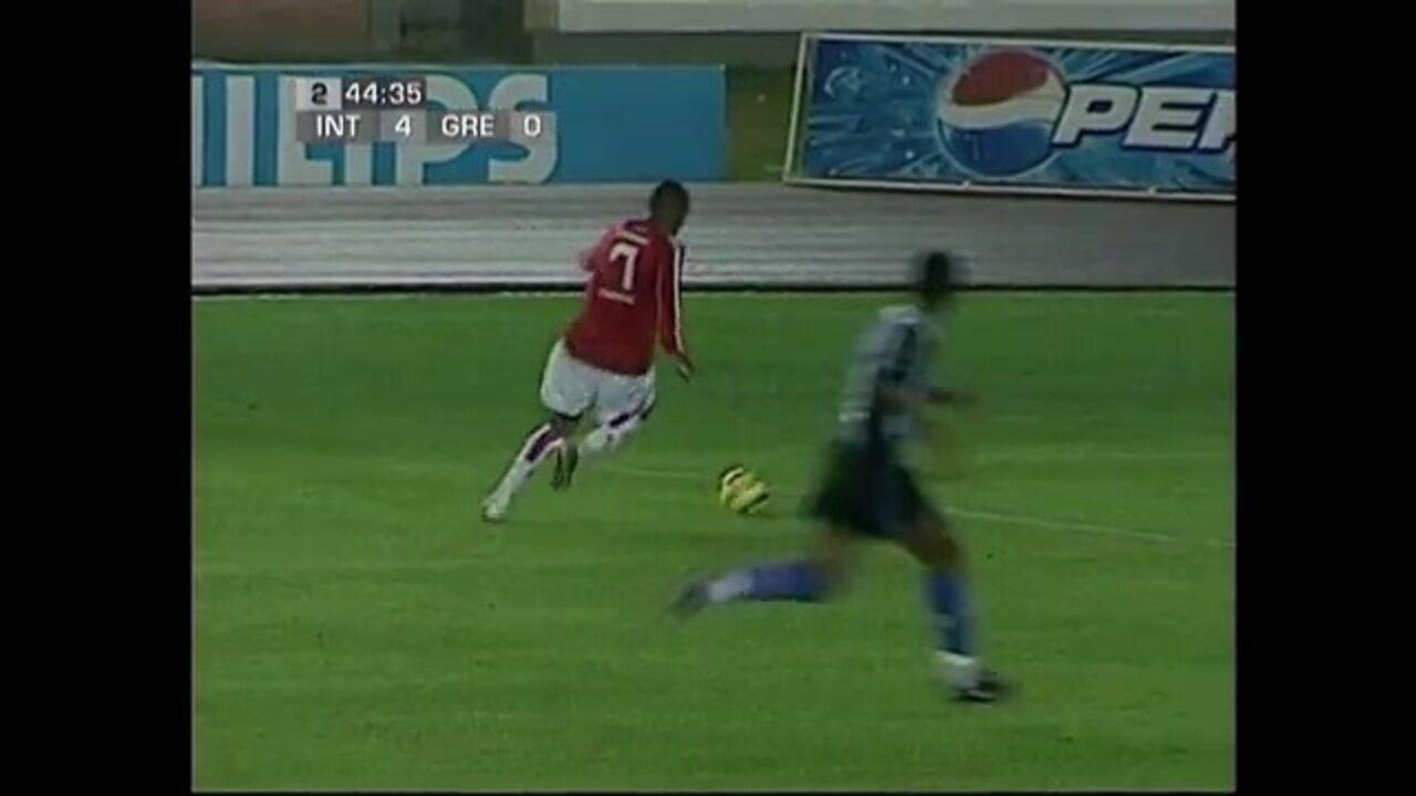Segundo gol de Luiz Adriano em final do Brasileirão Sub-20 pelo Internacional