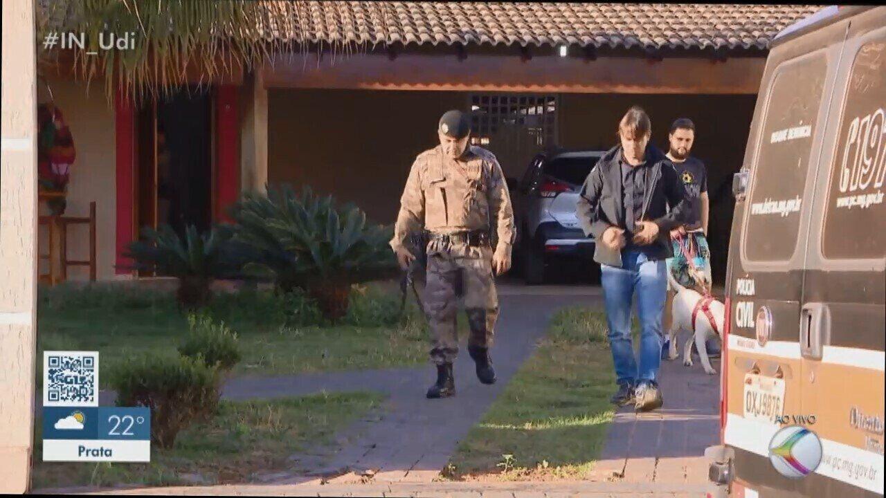 Gaeco cumpre mandados de prisão e apreensão durante operação em Araguari