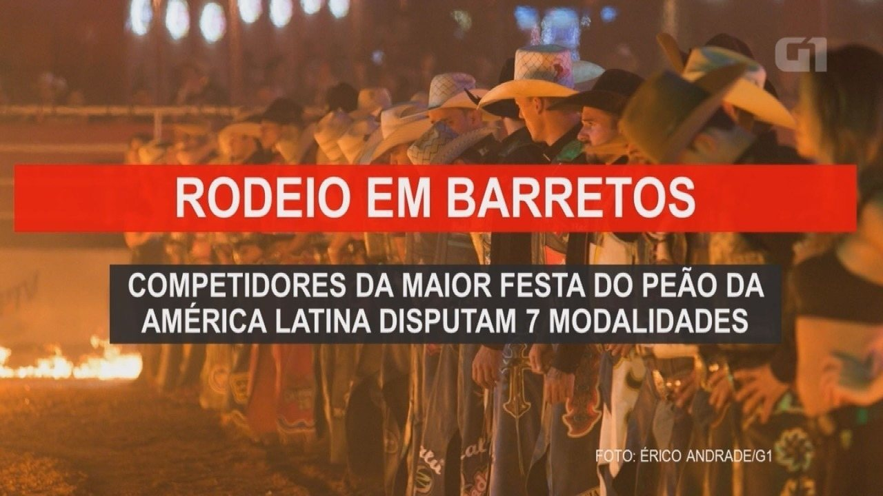 Festa do Peão de Barretos 2019: entenda as modalidades disputadas na arena do rodeio