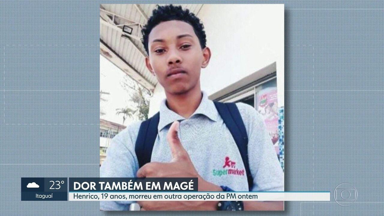Henrico, 19 anos, morre em operação policial na segunda-feira (12)