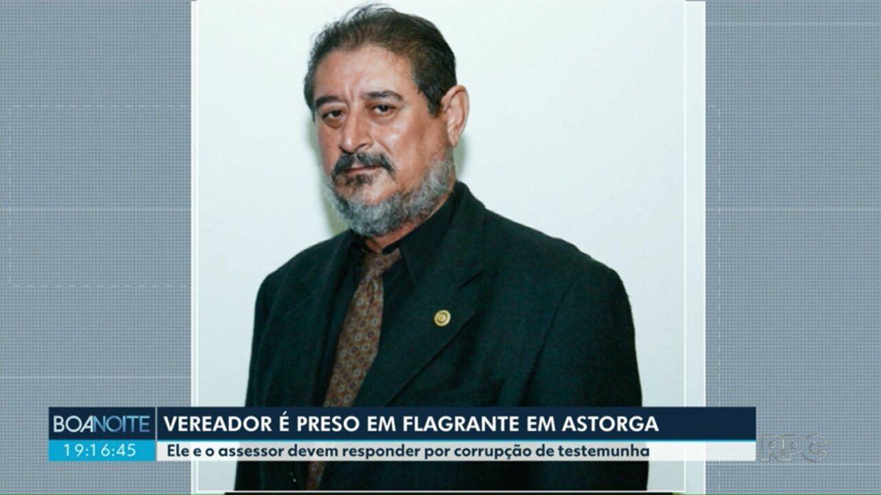Presidente da Câmara de Astorga e assessor são presos em flagrante