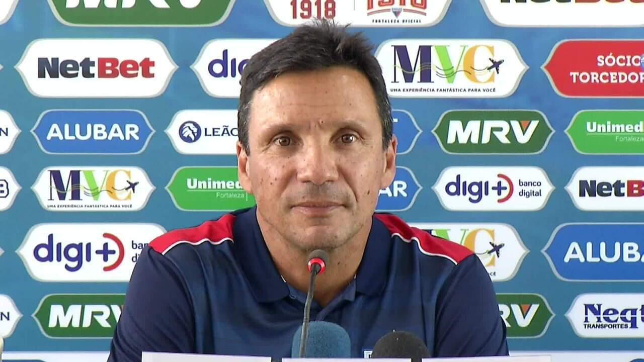Confira a coletiva de Zé Ricardo, novo treinador do Fortaleza